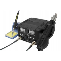 750W Hot Air and Soldering Iron 2-in-1 Rework Station