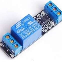 1Road/Channel Relay Module (with light coupling) 24V