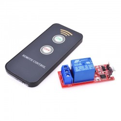 DC 12V 1 Channel Relay Module Infrared IR Remote Switch Control