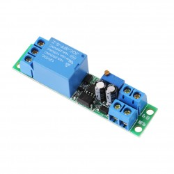12V delay Relay Module Car start delay Adjustable Time Switch with Light Coupling